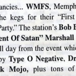 In Memphis...Satan is not funny!